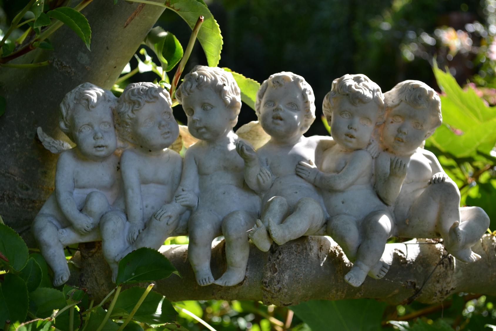 Deko fuer den Garten: Himmlische Beschuetzer